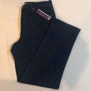 New Gloria Vanderbilt Slimming Jeans Sz 14 Average